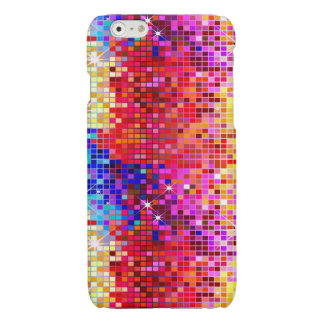 Metallic Colorful Sequins Look Disco Mirrors Glossy iPhone 6 Case