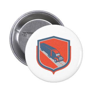 Metallic Container Truck and Trailer Shield Retro Badge