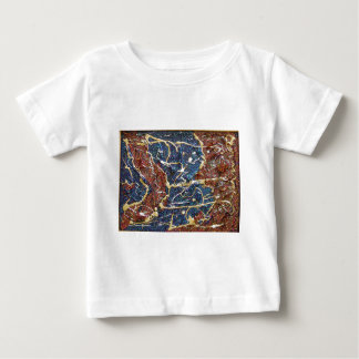 Metallic Continents Painting Baby T-Shirt