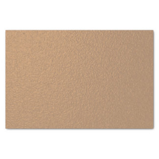 Metallic Copper-Colored Tissue Paper