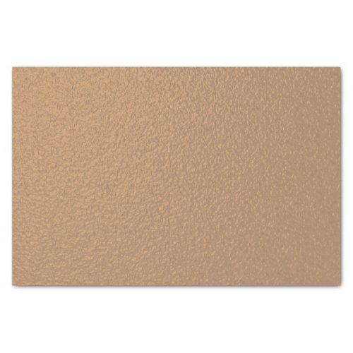 Metallic Copper-Colored Tissue Paper
