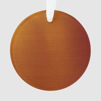 Metallic Copper Ornament