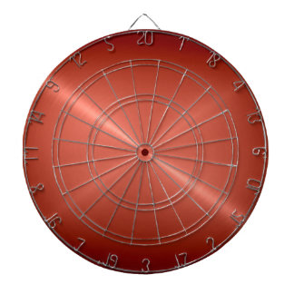 Metallic Copper Stainless Steel Metal Look Dart Board
