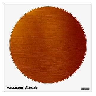 Metallic Copper Wall Sticker