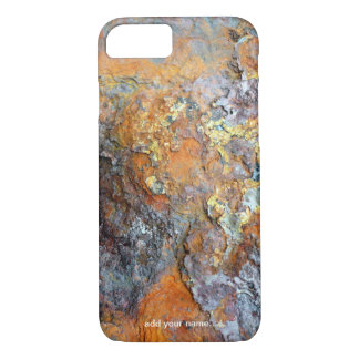 Metallic Corrosion Cool Rusty Industrial Textured iPhone 8/7 Case
