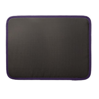 Metallic Cosmic Black MacBook Pro Sleeves
