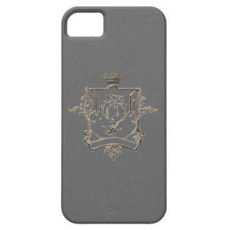 Metallic crest  Iphone 5 case