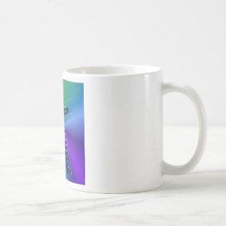 Metallic Crucifix. Coffee Mug