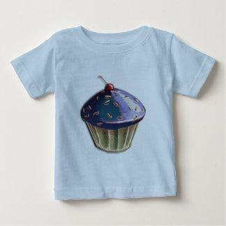 Metallic Cupcake Baby T-Shirt