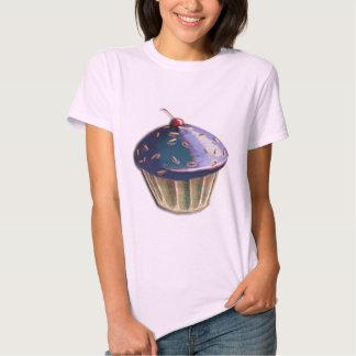 Metallic Cupcake T-Shirt
