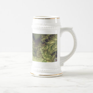 Metallic Curtain Beer Stein
