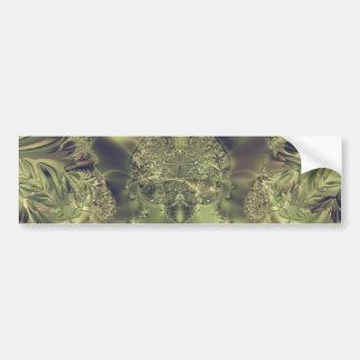 Metallic Curtain Bumper Sticker