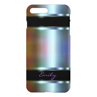 Metallic Design Soft Color Tint Design iPhone 8 Plus/7 Plus Case