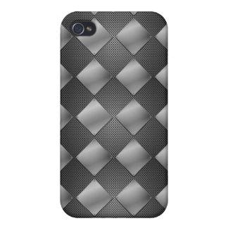 Metallic Diamonds & Mesh Covers For iPhone 4