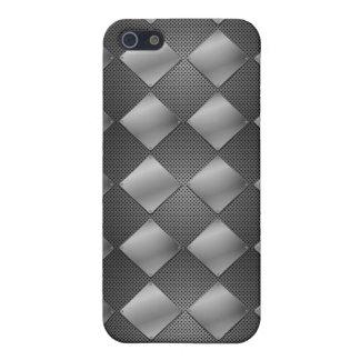 Metallic Diamonds & Mesh iPhone 5 Cover