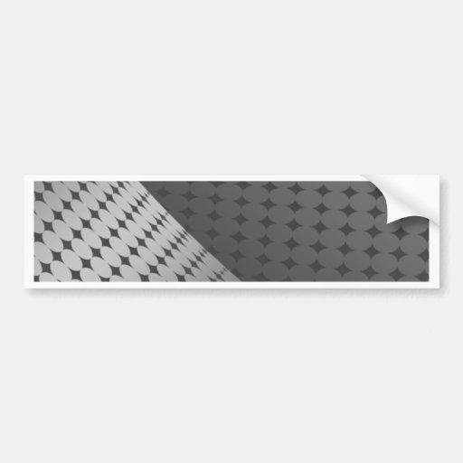 Metallic Dots Bumper Sticker