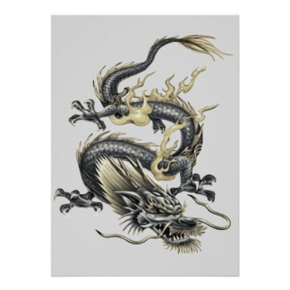 Metallic Dragon Custom Invite