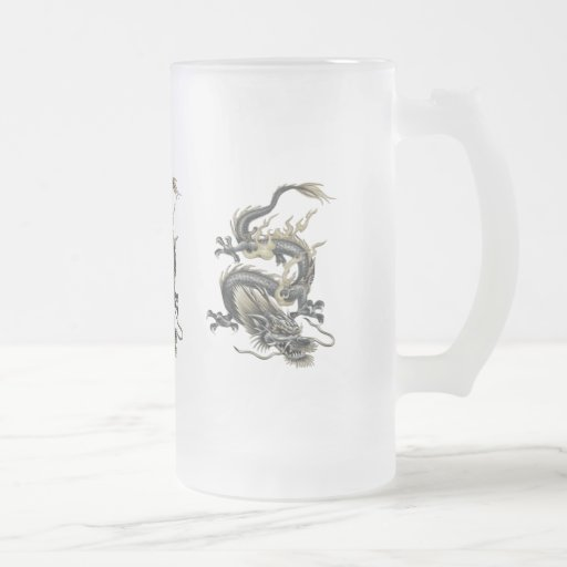 Metallic Dragon Mugs