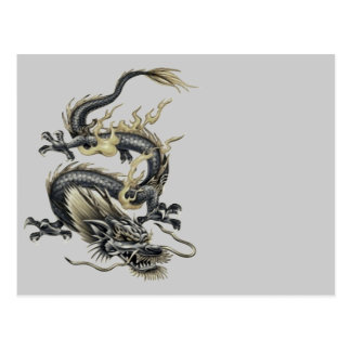 Metallic Dragon Postcard