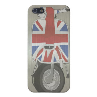 Metallic effect UJ Scooter Cases For iPhone 5
