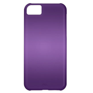 Metallic Electric Purple Skins Cover For iPhone 5C