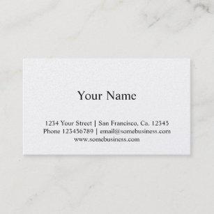 Metallic Finish Business Cards Zazzle