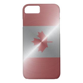 Metallic Flag Of Canada iPhone 7 Case