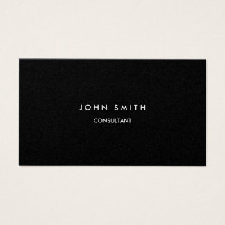 Metallic font / text, Two-Sided Business Card