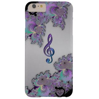Metallic Fractal Music Clef iPhone 6 Plus Case