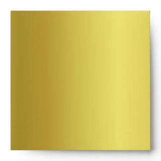 Metallic Gold Envelope With Metallic Gold Liner