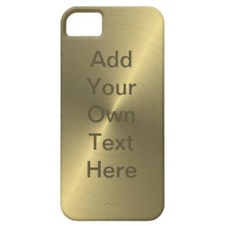 Metallic Gold iPhone SE/5/5s Case