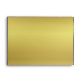 Metallic Gold Look Envelope