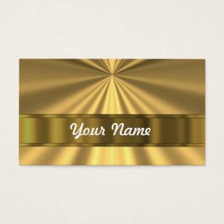 Metallic Gold looking Business Card