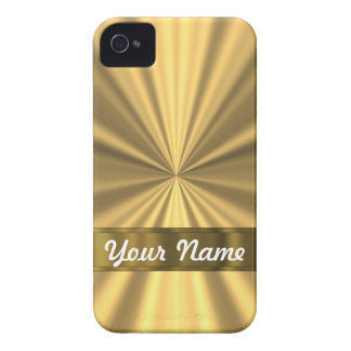 Metallic Gold looking Case-Mate iPhone 4 Case