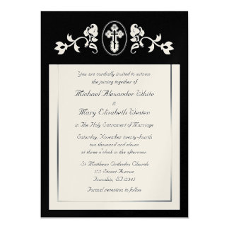 Metallic Gold - Orthodox Wedding Invitations
