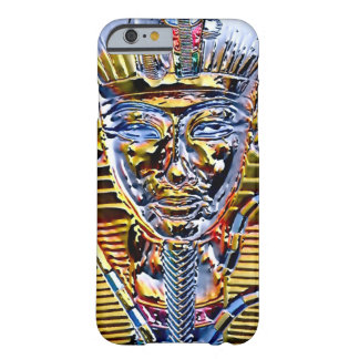 Metallic Gold & Silver Egyptian Pharaoh King Barely There iPhone 6 Case