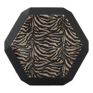 Metallic Gold Tiger Animal Print Speaker