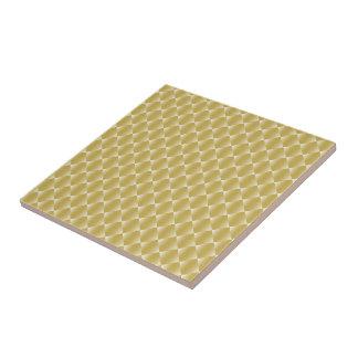 Metallic Gold tiled Ceramic Tile