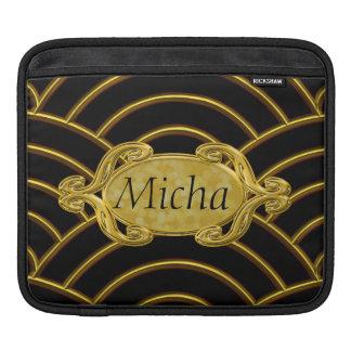 Metallic Golden Arches Monogram Sleeve For iPads