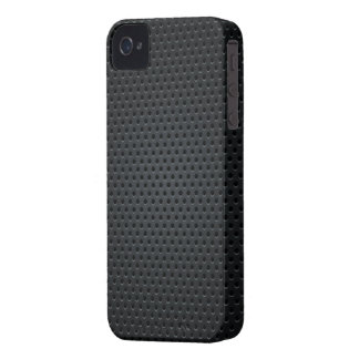 Metallic Holes Chequered Pattern iPhone 4 Case-Mate Case