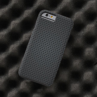Metallic Holes Chequered Pattern Tough iPhone 6 Case