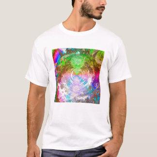 Metallic Mandelbrot 1e (log t) T-Shirt