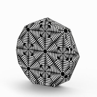 Metallic mesh pattern award