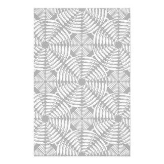 Metallic mesh pattern stationery