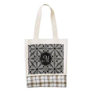 Metallic mesh pattern zazzle HEART tote bag