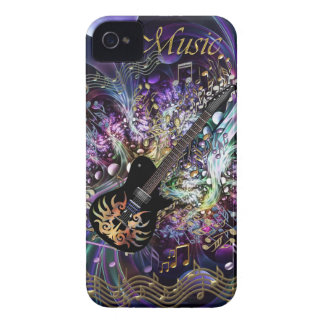 Metallic Music Chaos Case for iPhone 3