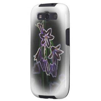 Metallic Neon Flowers Samsung Galaxy S3 Case