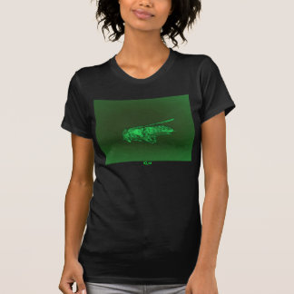 Metallic Neon Green Fly by KLM T-Shirt