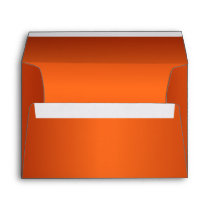 Metallic Orange 5 x 7 Invitation Envelope