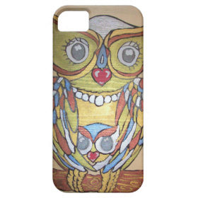 Metallic Owl IPhone Case Cover For iPhone 5/5S